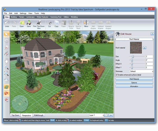 Dise o de planos de jardin en 3d con foto casa dise o for Planos de jardines